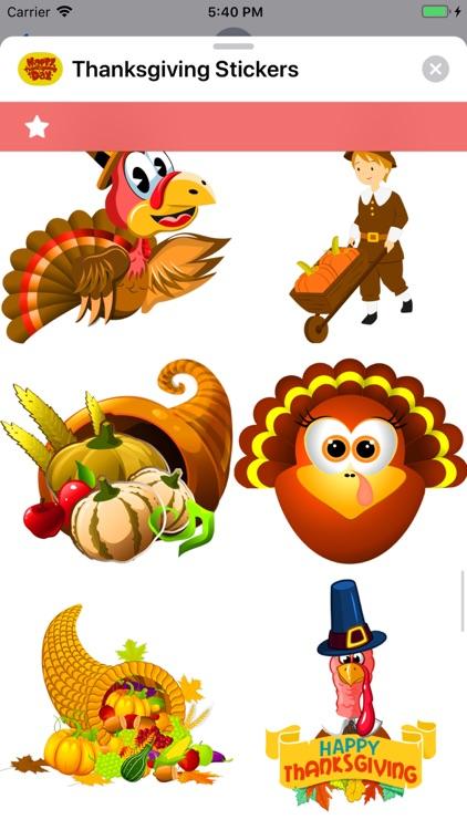 Thanksgiving Stickers screenshot-6