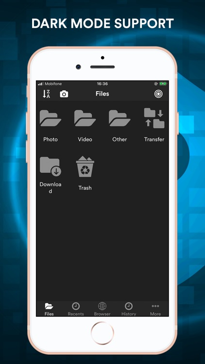 File Manager - Browser