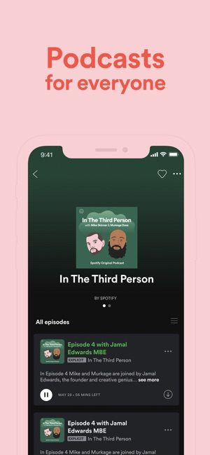 ‎Spotify: música y podcasts Screenshot