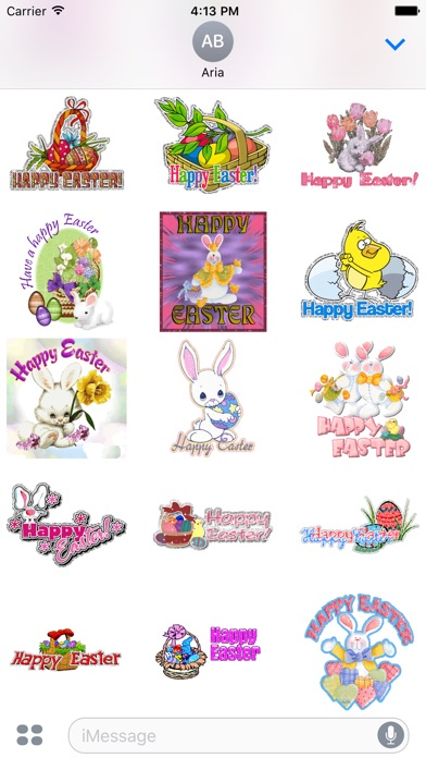 Happy Easter Animated Sticker screenshot 2