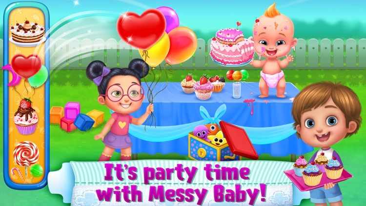 OMG! Messy Baby