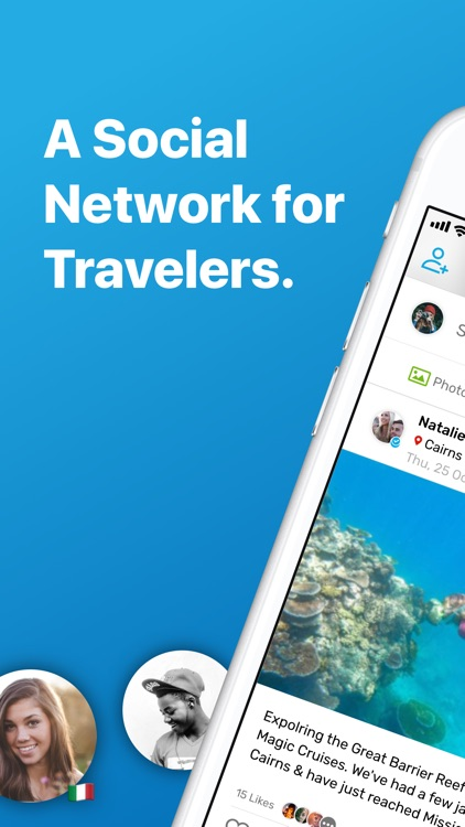 Travello - Make Travel Social screenshot-0