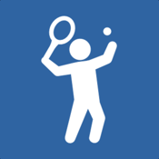 TennisKeeper - Tennis Activity, Scores, and Steps Tracker icon
