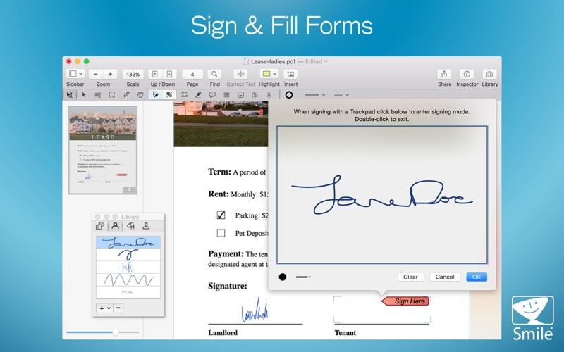 PDFpen 11 скриншот программы 5