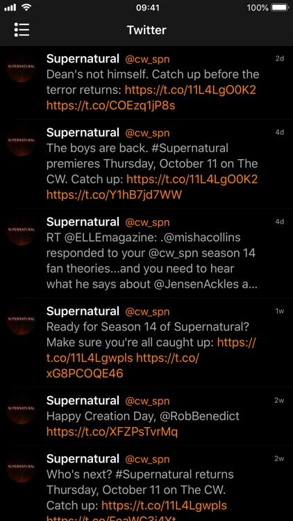 Countdown for Supernatural screenshot-4