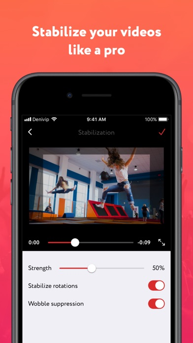 Deshake - Video stabilization by DENIVIP (iOS, United States