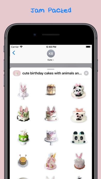 cute birthday cakes screenshot 2