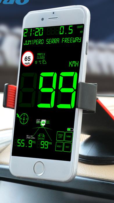 スピードメーターmphデジタルディスプレイのおすすめ画像2