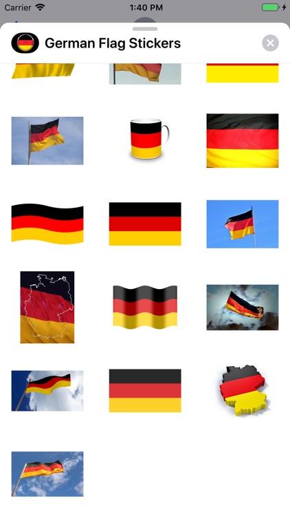 German Flag Stickers screenshot-3