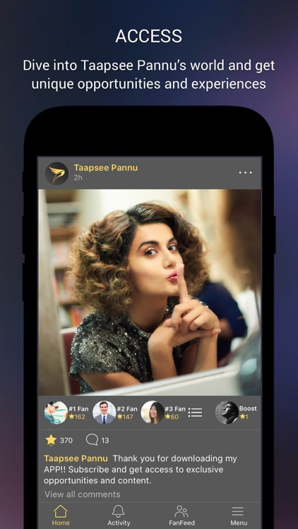 Taapsee Pannu Official App