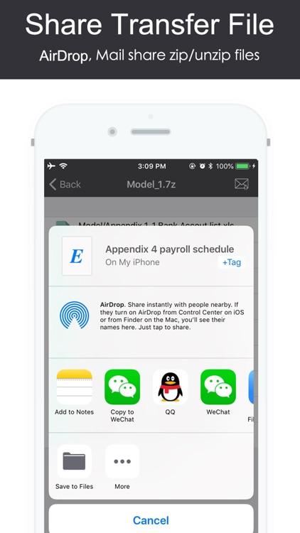 AiZip - Zip Rar 7z Tool screenshot-4