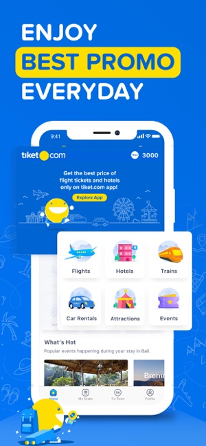 tiket com - Book Ticket Online on the App Store