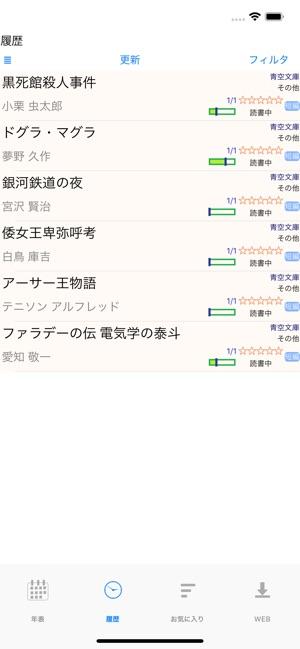 履歴 もう を 小説 読