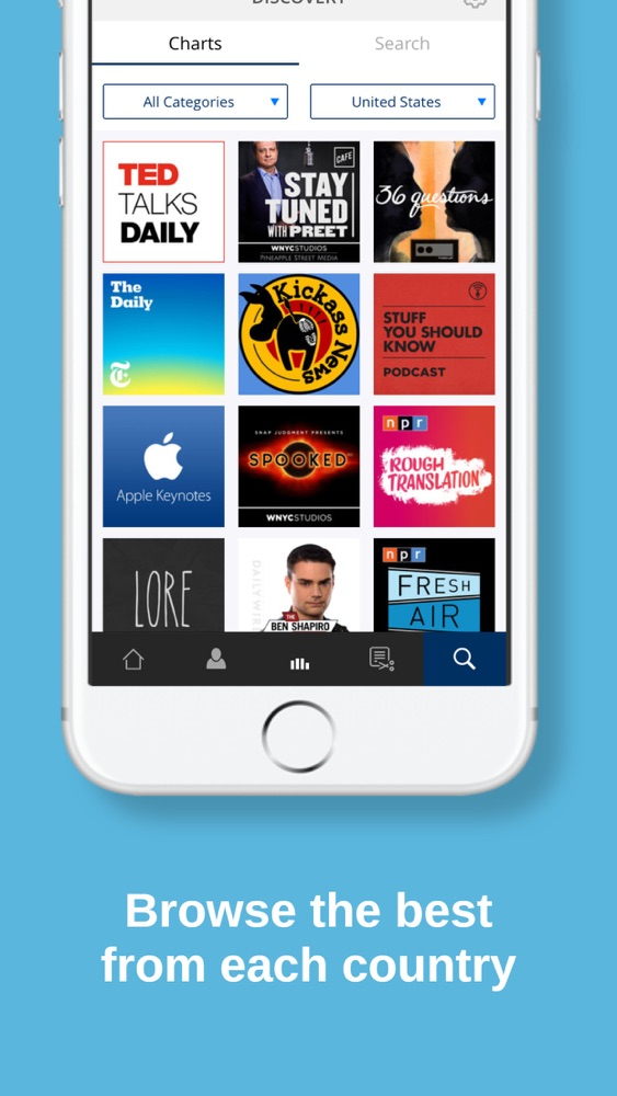 Procast Podcast App - Podcasts App for iPhone - Free Download