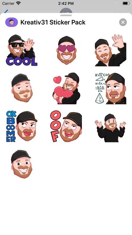 Kreativ31 Sticker Pack