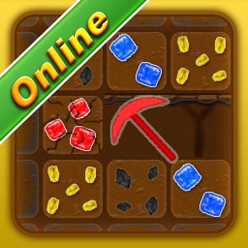 Treasure Miner Online 2d