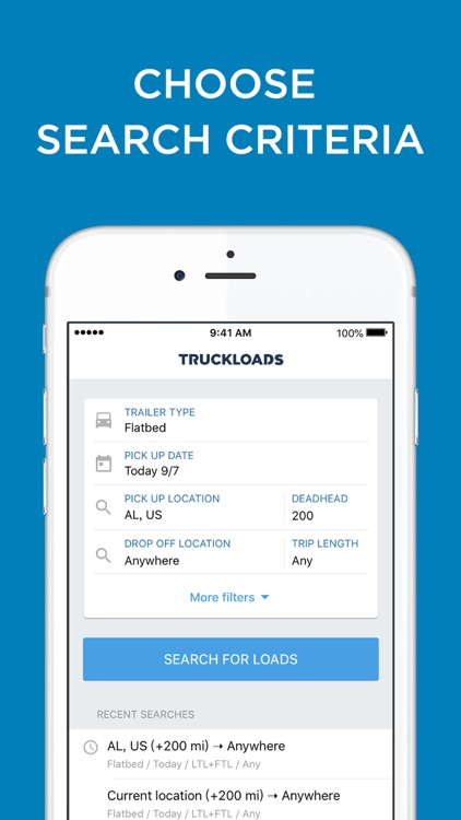 TruckLoads: Trucker Load Board screenshot-3