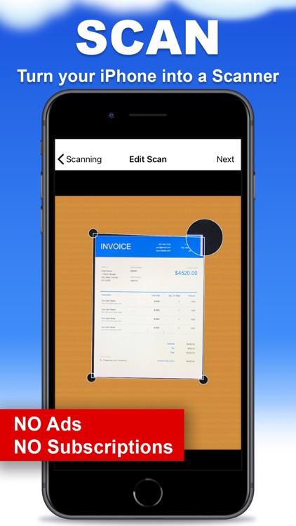 Scanner App - PDF Document