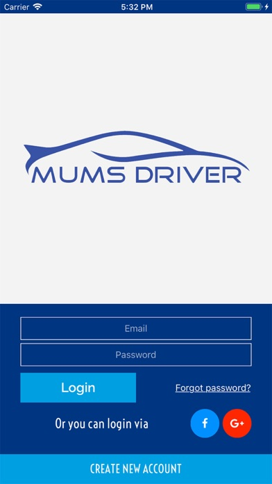 Screenshot for Mums Driver in Romania App Store