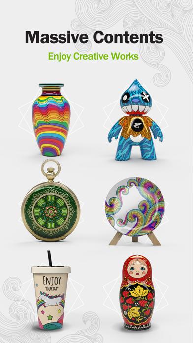 Paint.ly 3D: Pottery Art Color screenshot 3