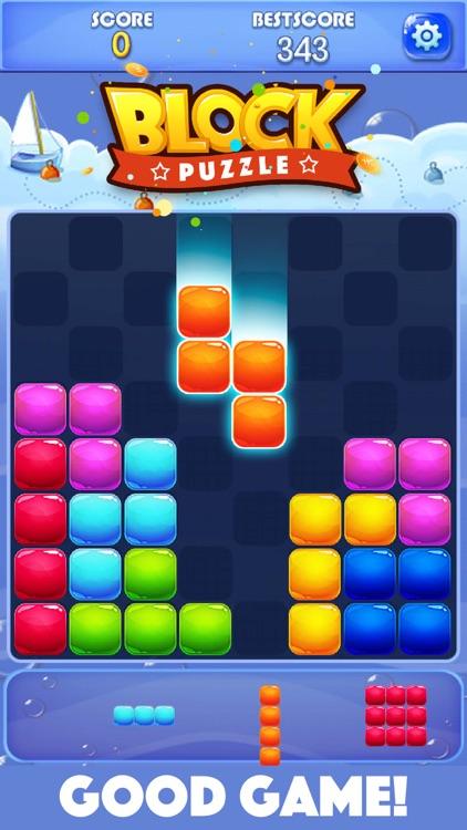 Candy Block Puzzle Blitz screenshot-0