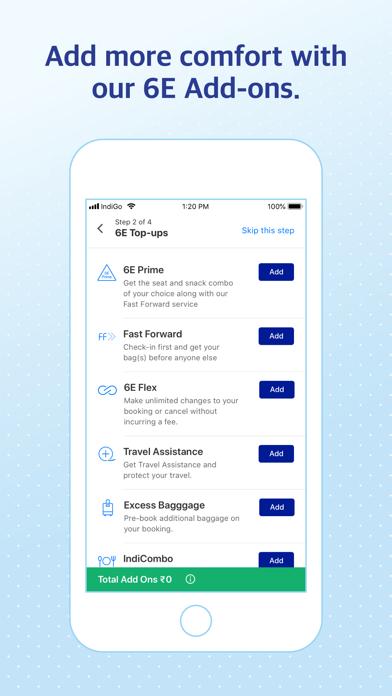 IndiGo   Flight Booking App screenshot three