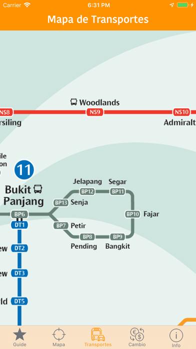 Singapur Mapa y Guía de ViajeCaptura de pantalla de4