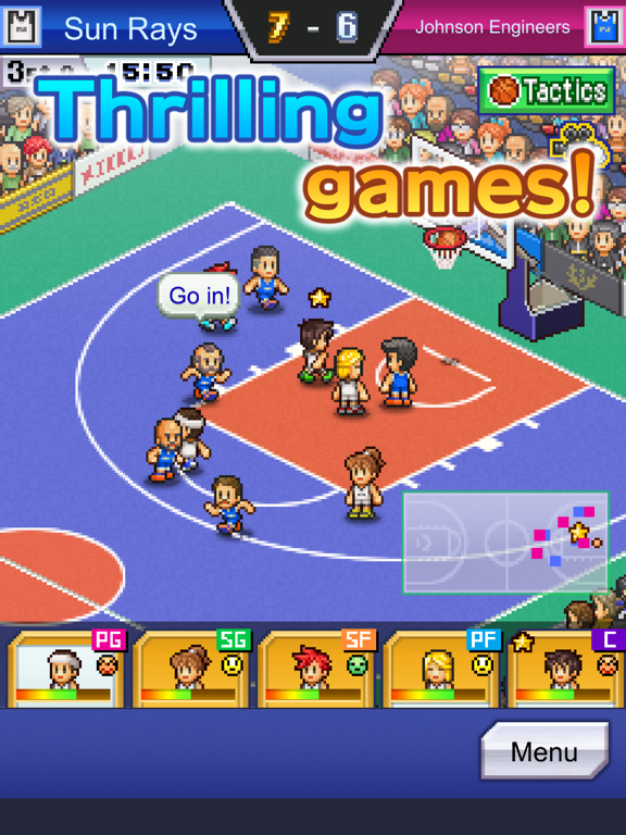 Ipad Screen Shot Basketball Club Story 2