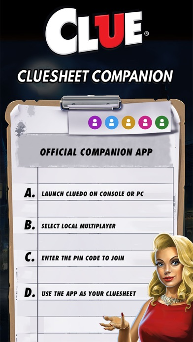 Cluesheet Companion Screenshot