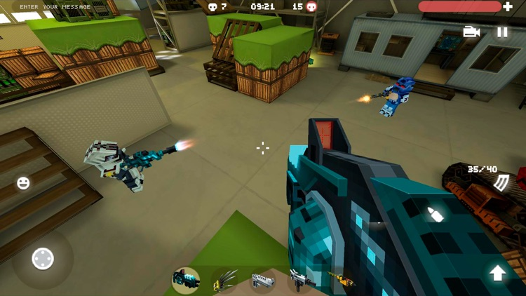 Blocky Cars Online - tank wars screenshot-6