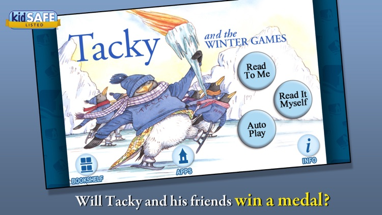 Tacky and the Winter Games screenshot-0