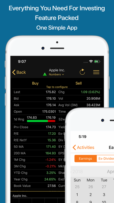 Stocks Live+ Best Stock Market Screenshots