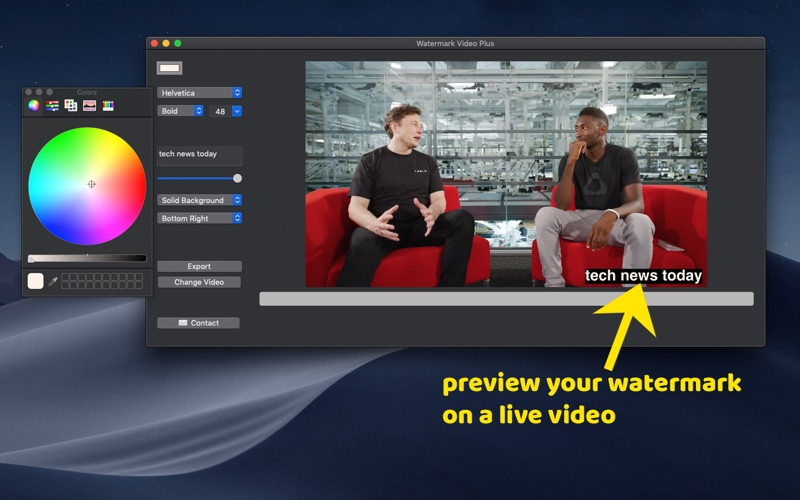 Watermark Video Plus for Mac