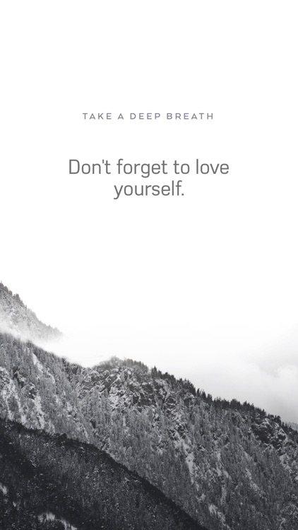 #Mindful - Motivation Widget