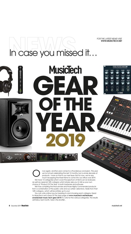 MusicTech Magazine screenshot-1