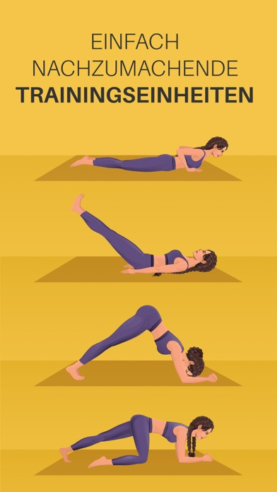Screenshot for Yoga-Go: Trainingseinheiten in Switzerland App Store