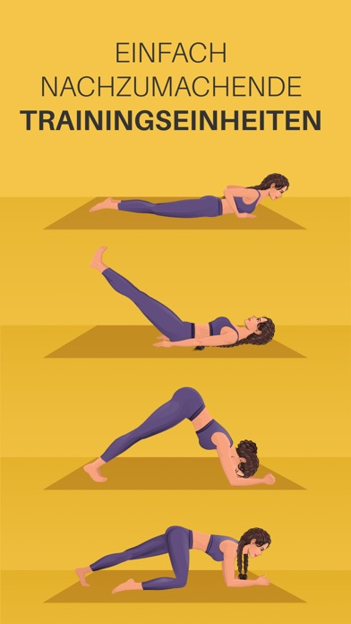 Screenshot for Yoga-Go: Trainingseinheiten in Switzerland App Store
