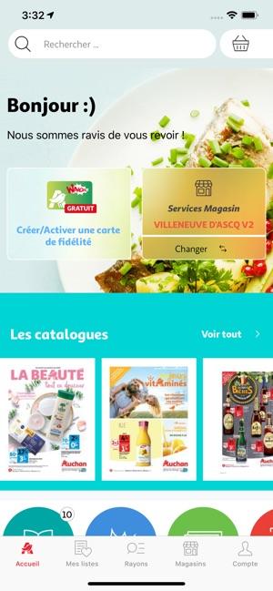 Auchan Carte De Fidelite En Ligne.Auchan France Dans L App Store