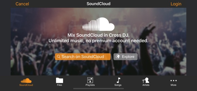 Cross DJ - dj mixer app on the App Store