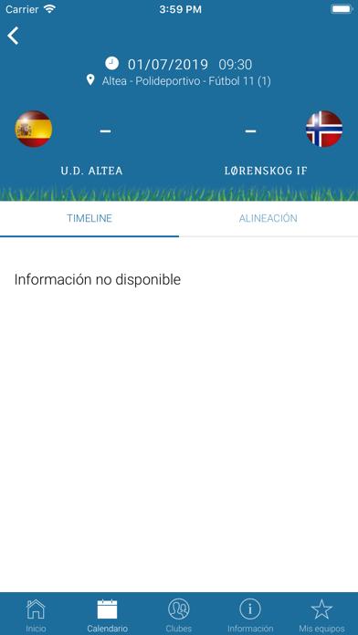 Costa Blanca Cup screenshot four