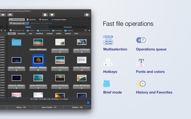 Commander One - file manager on the Mac App Store