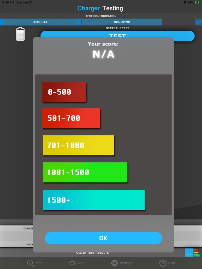 Amperes - battery charge info Screenshot