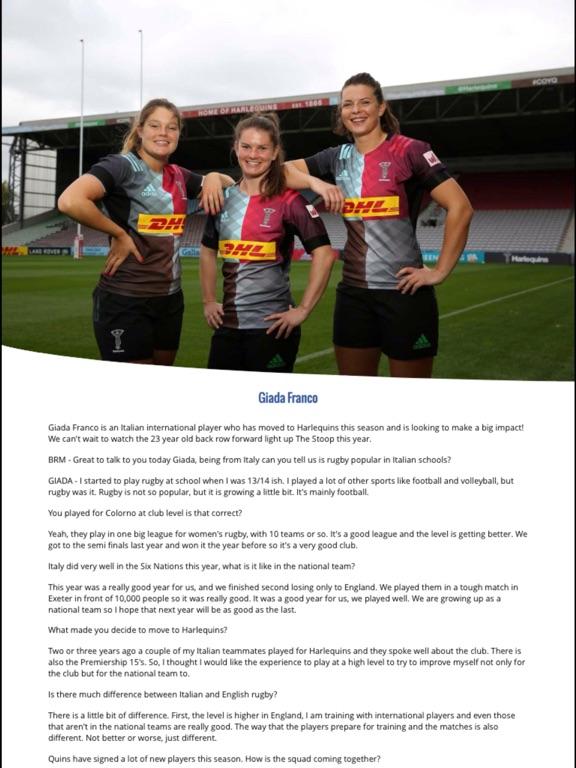 NU Generation Rugby Magazine screenshot 7