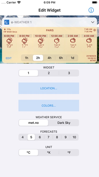 Alpha Weather Today Widgets screenshot-5