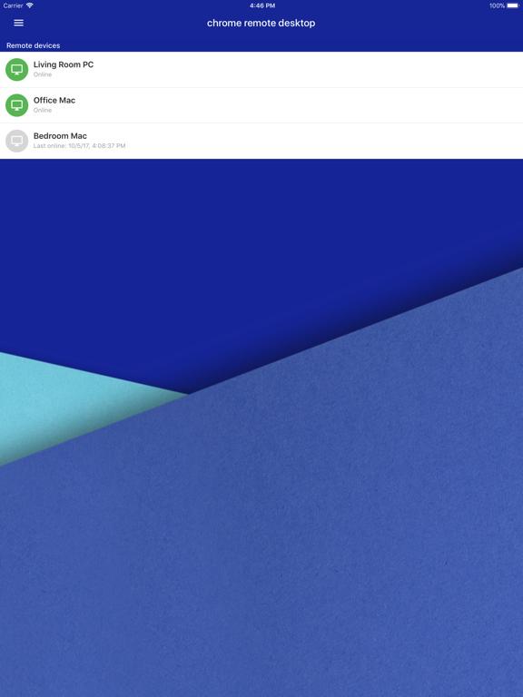 Chrome Remote Desktop-ipad-0