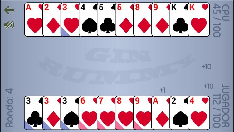 Gin Rummy: card game screenshot-5
