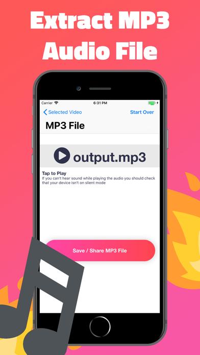 Video to MP3 Audio Extractorのおすすめ画像3