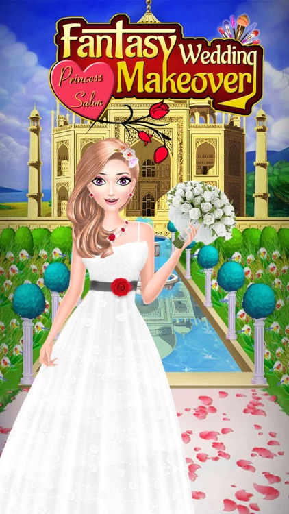 Fantasy Wedding Makeover Salon screenshot-4