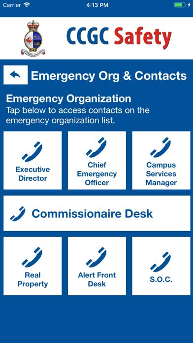 CCGC Safety screenshot 3