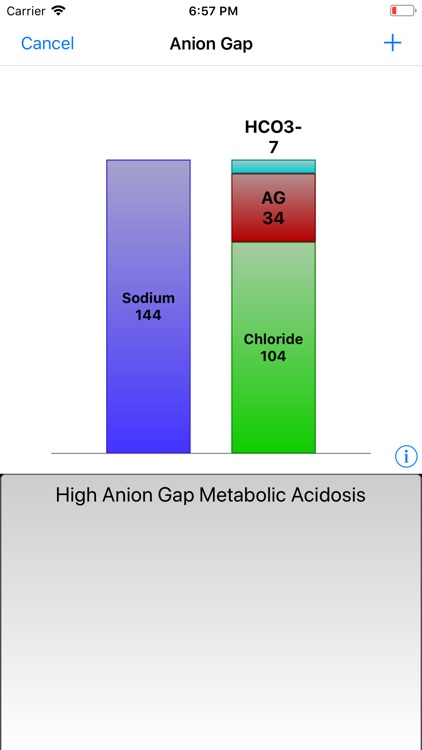 Graphical Arterial Blood Gas